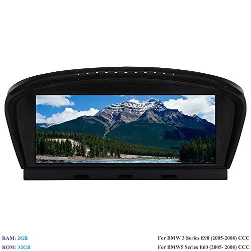 Hi-azul Android 8.1 Autoradio 8,8 Zoll Car Stereo RAM 2G ROM 32G Car Radio Autonavigation Kopfeinheit für BMW 3 Series E90 (2005-2008)/ BMW 5 Series E60 (2005-2008) Ursprüngliches CCC System