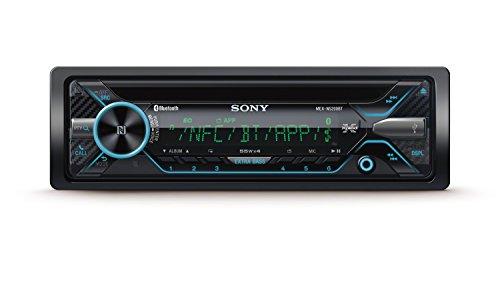 Sony MEX-N5200BT Autoradio (CD, Dual Bluetooth, NFC, USB und AUX Anschluss, 35.000 Farben (Vario Color) und Freisprechen)