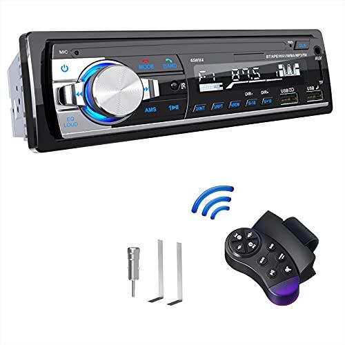 Autoradio Bluetooth, CENXINY Autoradio mit Bluetooth Freisprecheinrichtung, FM/RDS Bluetooth 5.0 Autoradio mit Atenna Adapter, 2 USB/AUX/TF Karte Unterstützen