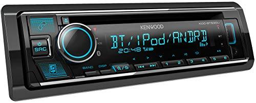 Kenwood KDC-BT530U CD-Autoradio mit Bluetooth Freisprecheinrichtung (Soundprozessor, USB, Spotify Control, 4x50 Watt, Farben einstellbar) Schwarz