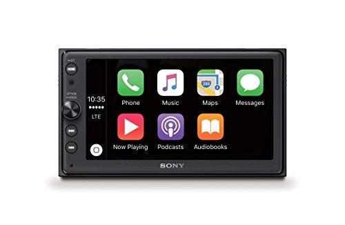 Sony XAV-AX100 Media Receiver (6,4 Zoll, Bluetooth, Apple CarPlay und Android Auto mit Touchscreen, Navigation über Google Maps des Smartphones, Freisprechen)