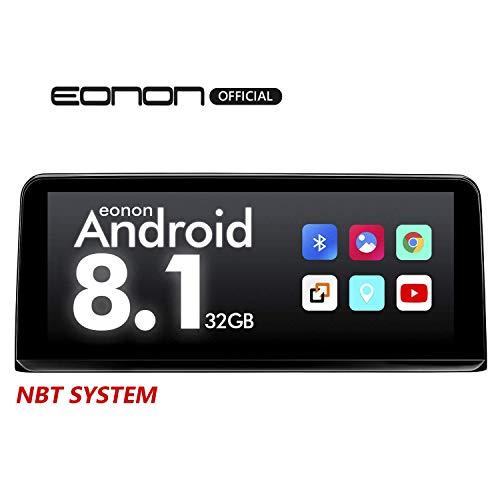 eonon GA9203NB Android 8.1 fit BMW F30 F31 F34 F35 F32 F33 F36 (2013~2017) 2G RAM 32G ROM 10,25 Zoll Touchscreen GPS kompatibel iDrive NBT System Lenkradsteuerung Factory Autoradio DVD Bluetooth