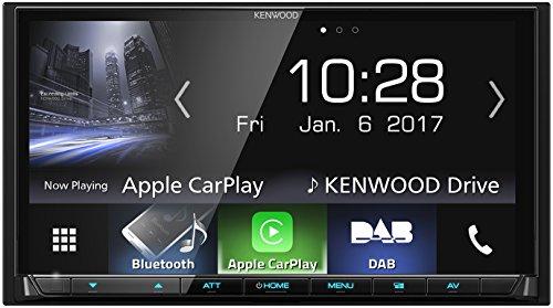 Kenwood DMX7017DABS AV-Receiver mit Bluetooth, Schwarz